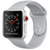 AW Series 3 GPS + Cellular Steel 38mm Silver