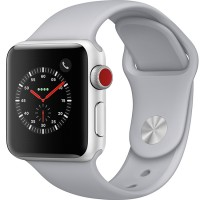 AW Series 3 Stainless Steel 38mm Silver - LTE