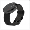 Đồng Hồ Thông Minh Smartwatch Moto 360 Black Housing Leather Band 42mm (2ND GEN)