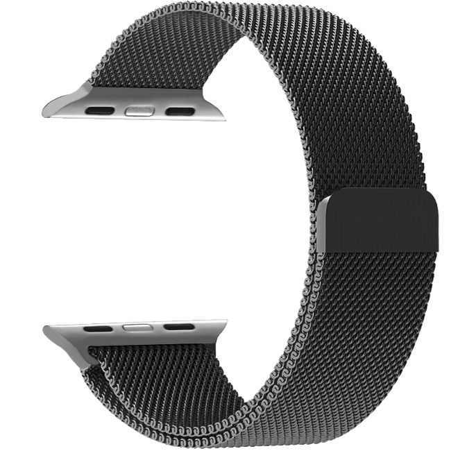 Dây đeo Milanese Loop Watch Series 4 40mm Black (Zin Apple)