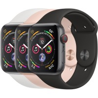 Apple Watch Series 4 44mm GPS+Cellular Aluminum Case with Sport Band