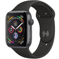 Apple Watch Series 4 44mm (MU6D2) GPS Space Gray Aluminum Case with Black Sport Band