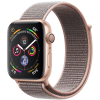 Apple Watch Series 4 44mm (MU6G2) GPS Gold Aluminum Case with Pink Sand Sport Loop