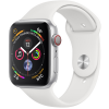 Apple Watch Series 4 44mm (MTUU2) GPS + Cellular Silver Aluminum Case with White Sport Band
