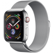 Apple Watch Series 4 44mm (MTV42) GPS + Cellular Stainless Steel Case with Milanese Loop