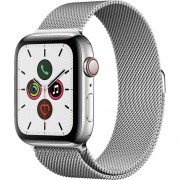 Apple Watch Series 5 44mm (MWW32) GPS + Cellular Stainless Steel Case with Stainless Steel Milanese Loop