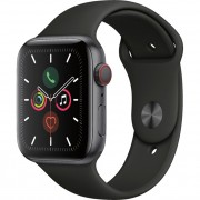 Apple Watch Series 5 40mm (MWWQ2) GPS + Cellular Space Gray Aluminum Case with Black Sport Band