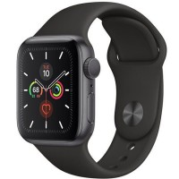 Apple Watch Series 5 44mm (MWVF2) GPS Space Gray Aluminum Case with Black Sport Band