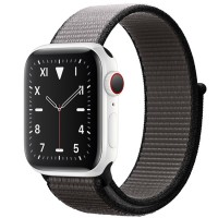 Apple Watch Edition 44mm GPS + Cellular White Ceramic Case with Anchor Gray Sport Loop