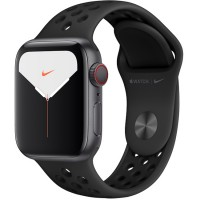 Apple Watch Series 5 Nike+ 44mm (MX3A2) GPS + Cellular Space Gray Aluminum Case with Anthracite/Black Nike Sport Band