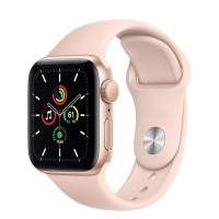 Apple Watch SE 40mm (MYDN2) GPS Gold Aluminum Case with Pink Sand Sport Band