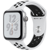 Apple Watch Series 4 Nike+ 40mm (MTV92) GPS + Cellular Silver Aluminum Case with Pure Platinum Black Nike Sport Band