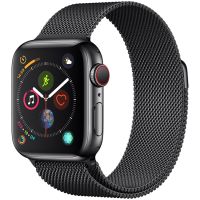 Apple Watch Series 4 44mm (MTV62) GPS + Cellular Stainless Steel Case with Milanese Loop