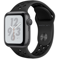 Apple Watch Series 4 Nike+ 40mm (MTX82) GPS + Cellular Space Gray Aluminum Case with Anthracite Black Nike Sport Band