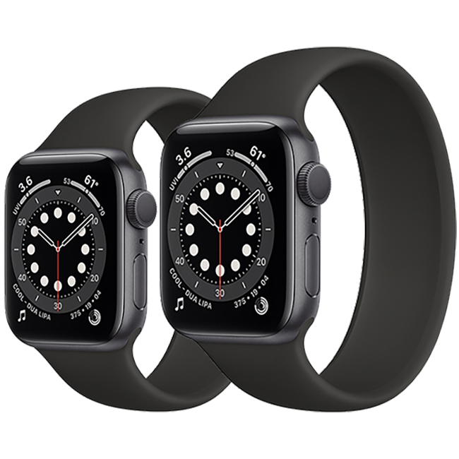 Apple Watch Series 6 40mm GPS Aluminum Case with Solo Loop